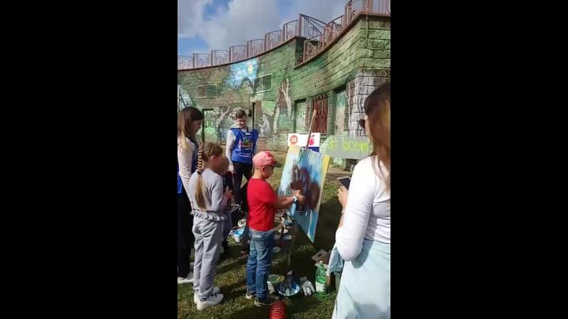 Площадка Художественный дизайнер на детском празднике Дети наше будущее  студия bobmakar Дубн