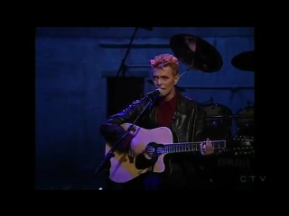 Conan OBrien homage to David Bowie; Dead man walking - acoustic (1997)