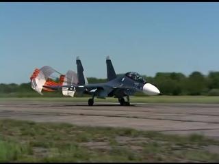 Прилёт новых Су-30 СМ на аэродром в Черняховске