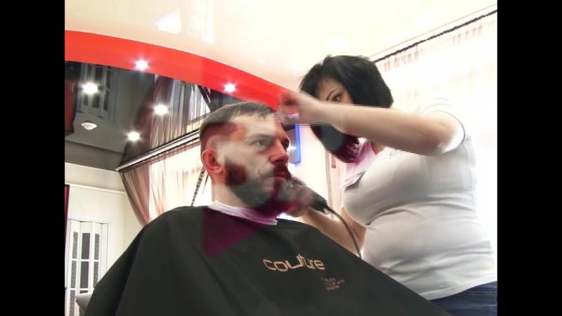 Beauty Блог 3 серия Мужская стрижкамужской камуфляж седины а так же оформление бороды
