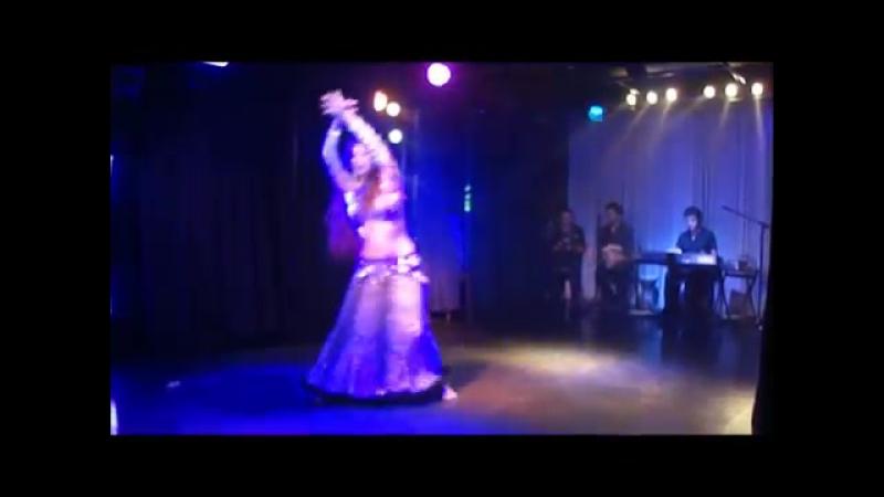 CARMELINA (Perú) junto a ARMEN KUSIKIAN en ARGENTINA - Danza Arabe 5158