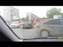23.05.17 на перекрестке Амундсена - Объездная перестал работать светофор. Результат на видео. дтп96 нарушение96