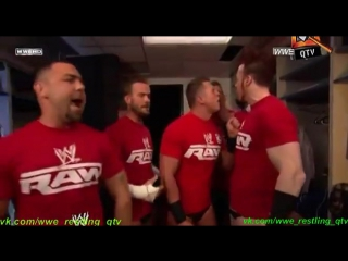 [WWE QTV]Cамці Савців.PPV[Bragging Rights]2010]Segment]Team Raw]The Miz Cm Punk Santino Marella Sheamus Alex Riley]Команда Роу]