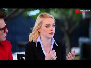 Emma stone, billie jean king talk battle of the sexes