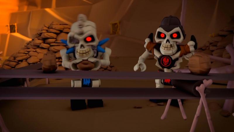 LEGO Ниндзяго- Мастера кружитцу 2 серия - Золотое оружие (2011)