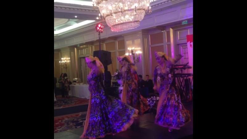 Узбекский торжественный танец-