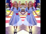 Dawn as Dorothy has us over the #rainbow 🌈 Swipe ⏪ to check out some #BTS pics from #NRDD's upcoming special, #WizardOfQuads!