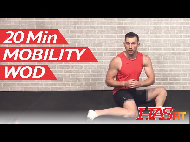 20 Min Beginner Mobility WOD by HASfit - Shoulder, Hip, Ankle, Thoracic Spine, Wrist ROM