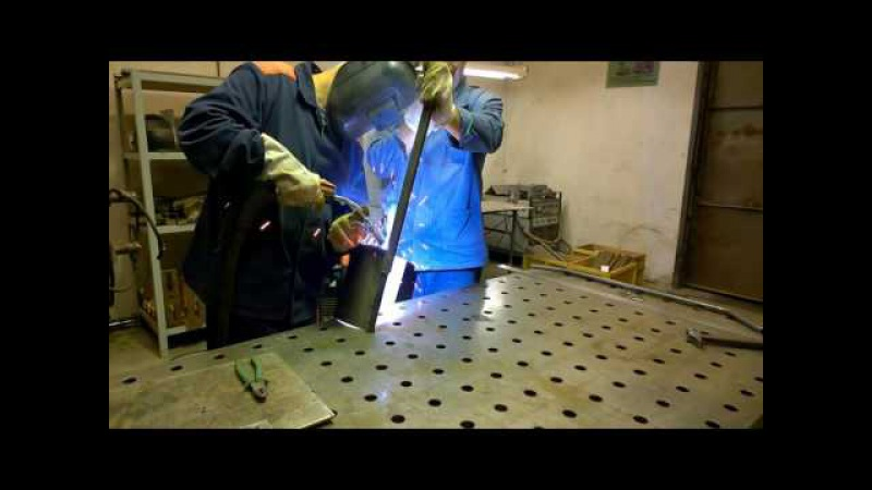 Полуавтоматическая сварка чудо-лопаты Вятский пахарь