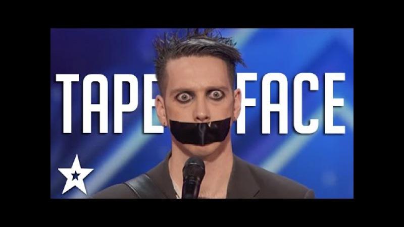 Tape Face Auditions Performances | America's Got Talent 2016 Finalist