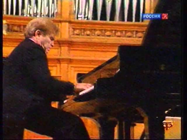 Emil Gilels plays Schumann and Mendelssohn - video 7 January 1983
