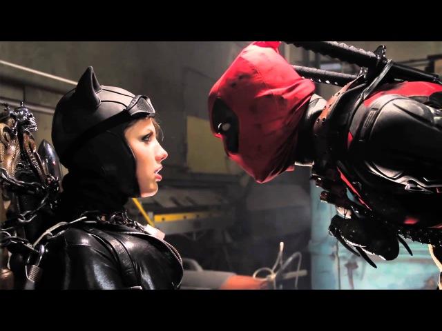 BATMAN vs DEADPOOL Super Power Beat Down Бэтмен против Дедпула Русская озвучка
