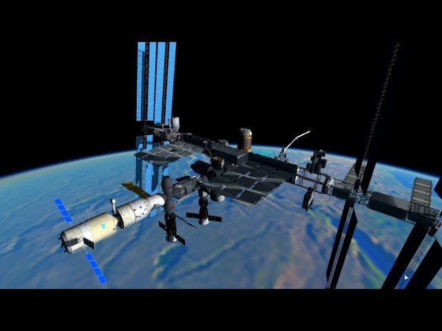KSP: Building the International Space Station in RSS