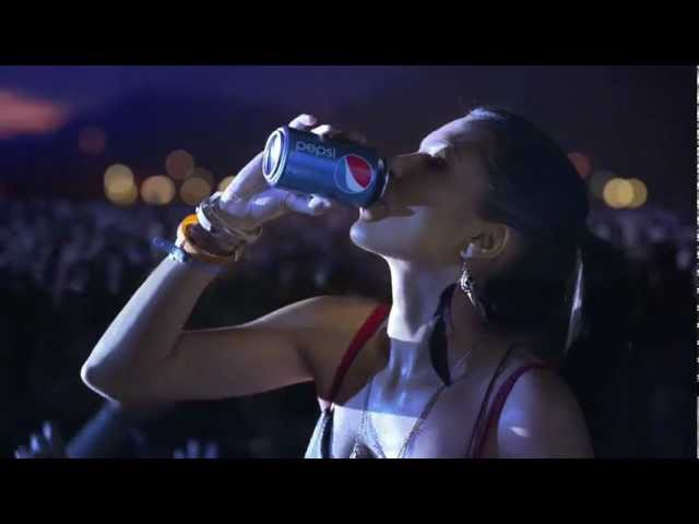 OFFICIAL Pepsi Crowd Surfing TV Commercial 2012 - Kick in the Mix (Calvin Harris)