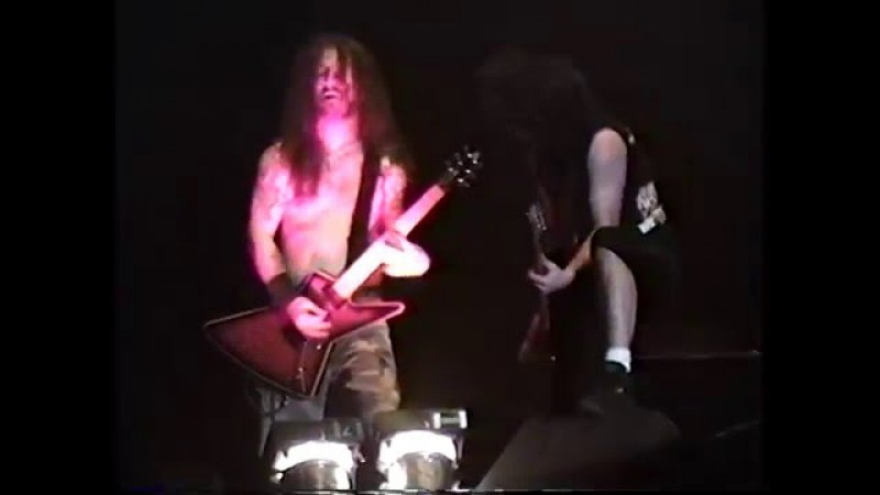 Anthrax W/Dimebag Darrell - Only (Tampa,Fl) 12.5.96