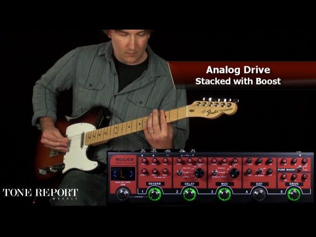 Mooer Red Truck - Combined Effects Pedal