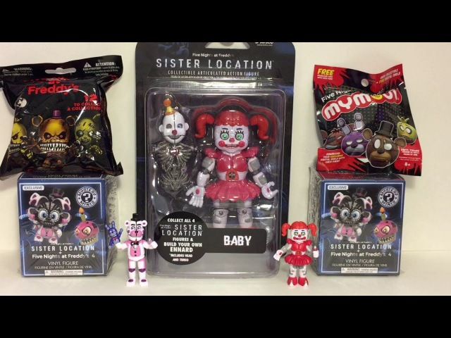 Five Nights at Freddy's Sister Location Baby Funko Figure Mystery Minis Blind Bags Opening