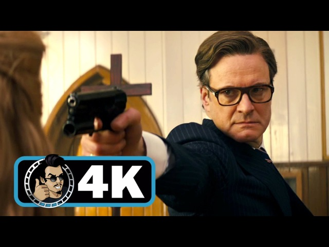 KINGSMAN: THE SECRET SERVICE Movie Clip - Church Massacre |4K ULTRA HD| Colin Firth Action 2014
