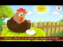 Hens Song | The Tickle Rhyme | The Blue Room | English Poem Compilation For Kids