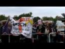Lautstark- tolerante Störer beim Marsch für das Leben