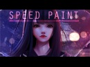 Speed Paint Rainy Day Paint tool sai Lulybot