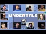 Реакция Летсплейщиков на Шутки Санса при Прохождении Игры Undertale