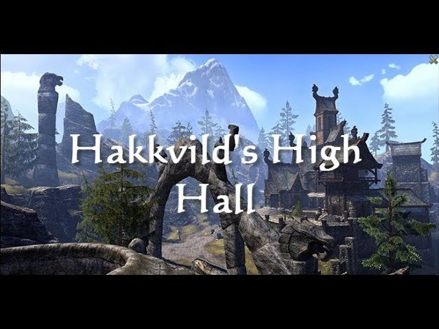 ESO Fashion - Hakkvild's High Hall