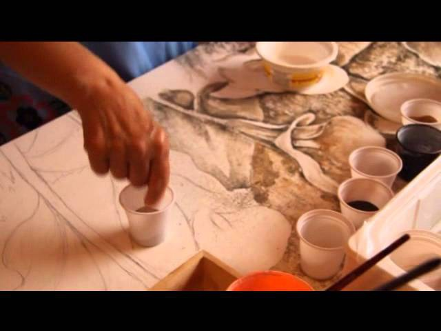 Dipingere a sabbia naturale - Maria Grazia Monticelli - 1° parte