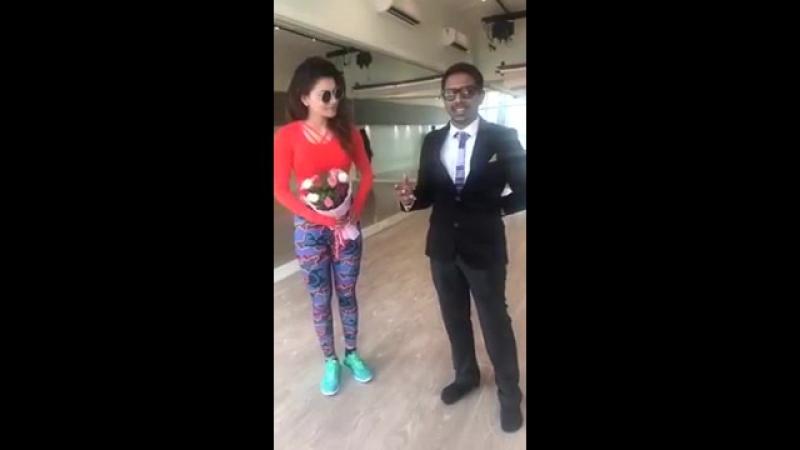 Urvashi Rautela - Hey ! Guys so here he is JeevanS my No.1 fan from Urvashi Rau