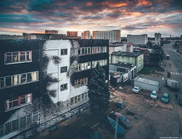 Минский стрит-арт.