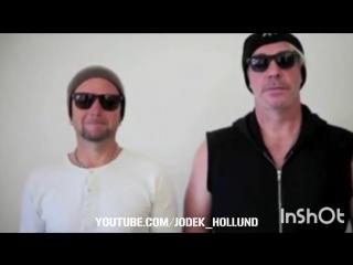Till Lindemann und Paul Landers
