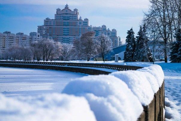 С каждым лайком выпадает все больше снега :)