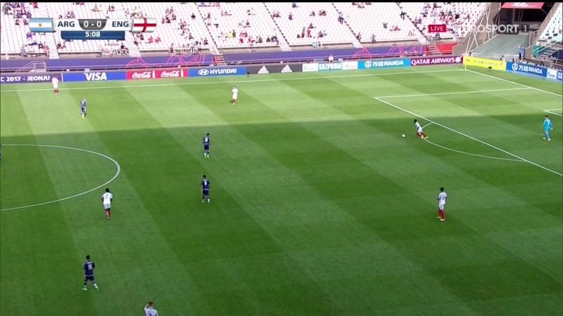 Аргентина - Англия   World Cup 2017 U-20 / Чемпионат Мира-2017 до 20 лет / Группа A / 1-й тур   Полностью матч HD   1 тайм
