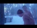 Зимняя баня в лагере