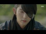 Наимилейший момент из дорамы Алые сердца коре: Ван Со понимает, что влюбился