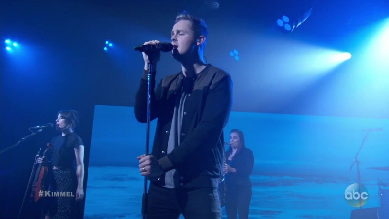 Tom Chaplin Performs 'Quicksand' on Jimmy Kimmel Live