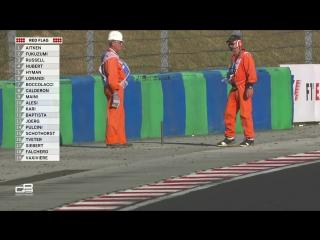 GP3 2017. Round 4. Hungary. Free Practice 1