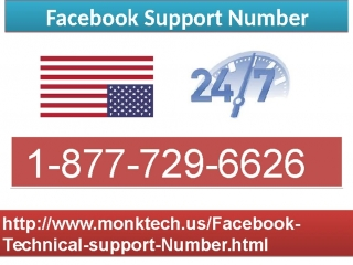 1-877-729-6626 Facebook Technical Support: A blend of excellence promptness