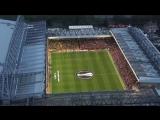 Youll Never Walk Alone от фанатов Ливерпуля и Боруссии Дортмунд