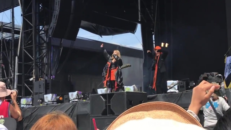[FANCAMS] 170820 CL - 'Lifted' @ Summer Sonic 2017 в Осаке