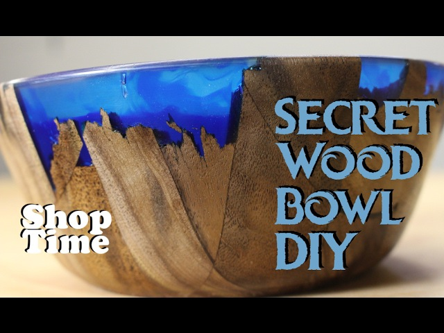 Чаша/Secret Wood Bowl DIY