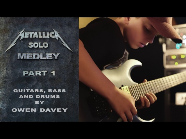 Metallica Solos Medley Pt 1 Multi Instrumental Cover