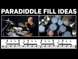 Play Better Drums: Paradiddle Fill Ideas - Part 2