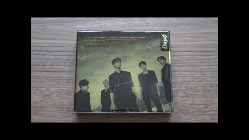 Unboxing DAY6 데이식스 1st Studio Album Sunrise