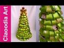 Choinka ze wstążek (Christmas tree, ribbon)