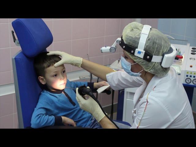 Наблюдение детского оториноларинголога после аденотомии. Ефимова Юлия Игоревна.