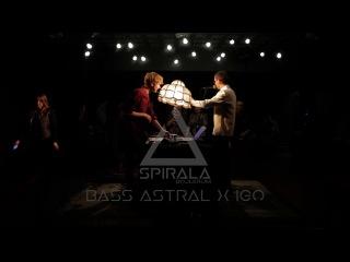 BASS ASTRAL x IGO live act   SPIRALA BOJLERUM