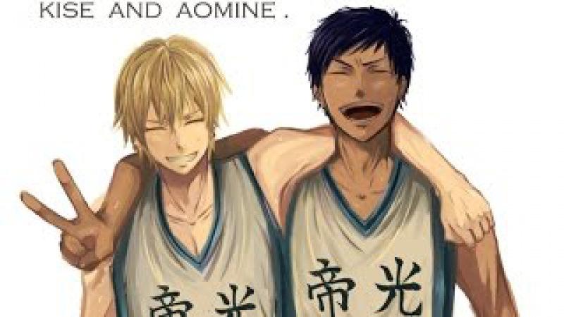 「AoKise」(Kuroko no Basuke) ☔ - fell apart (h ø m e) ✌