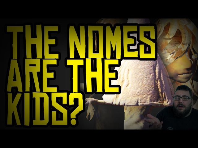 ARE THE NOMES KIDS? [SPOILERS] - Little Nightmares The Hideaway Theory