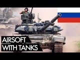 Real Tanks in Airsoft - Russian Milsim Wargame 9 - Vlog